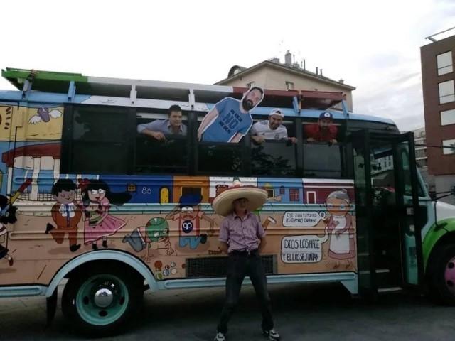 Ребята из Мексики приехали на Чемпионат Мира в Россию с картонной фигурой друга, которого не отпустила жена Мексика, чемпионат мира по футболу, длиннопост