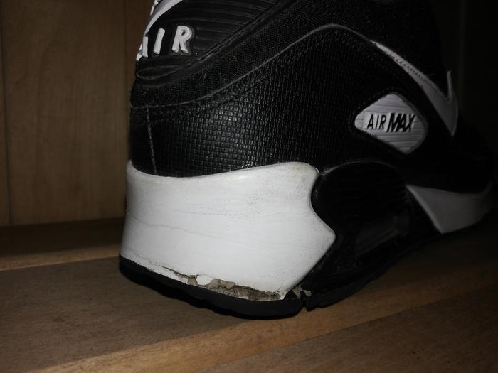 Как у меня кросовки лопнули. Nike, Кроссовки, Проблема