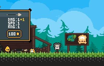 Мобильная адвенчура/рпг про жирующего лиса Pixel art, indiedev, android, RPG, platformer, dobroslon, гифка