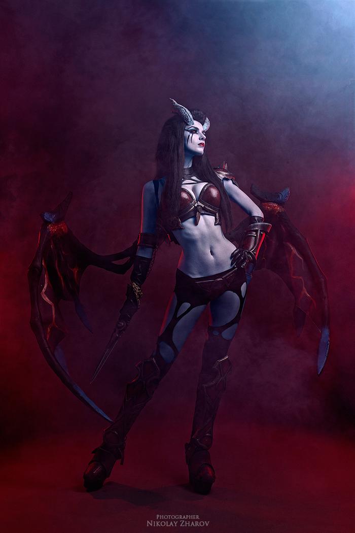 Queen of Pain cosplay by MightyRaccoon Косплей, Dota 2, Queen of pain, Дота 2, Mightyraccoon, Русский косплей, Длиннопост, Девушки