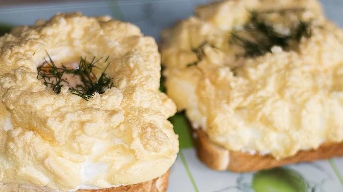Необычный красивый завтрак – яйца Орсини яйца орсини, завтрак, рецепт, видео рецепт, кулинария, еда, IrinaCooking, видео, длиннопост