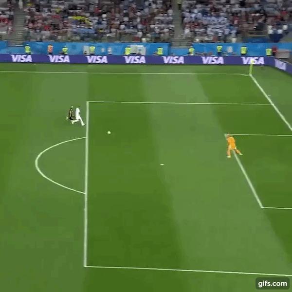 Чудовищная ошибка вратаря сборной Аргентины