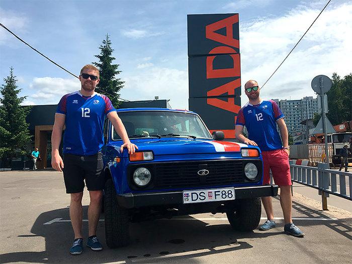 Исландцы приехали в Россию на «Ниве». Чемпионат мира по футболу 2018, Чемпионат мира, Футбол, Исландия, Автопутешествие, Длиннопост