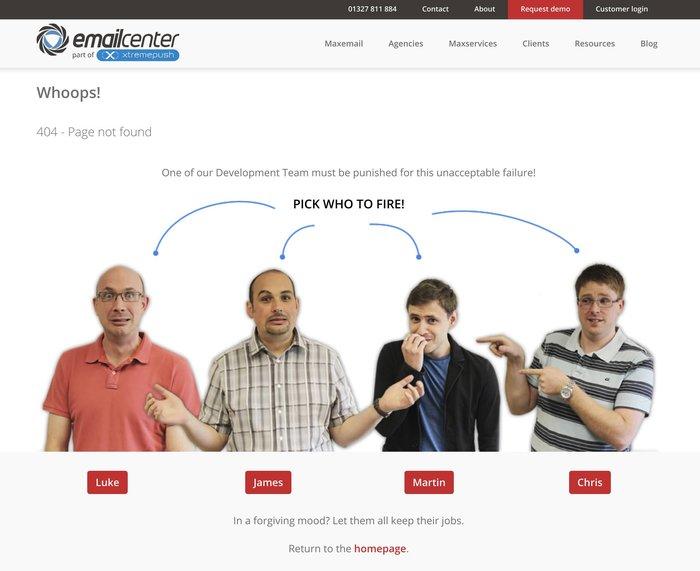 Крутая 404 страница error 404, сайт, забавное