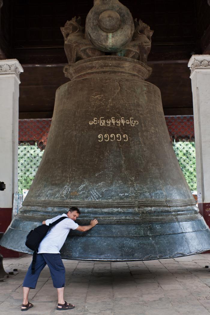 Мингунский колокол - самый большой действующий колокол в мире Мьянма, Мингун, Колокола