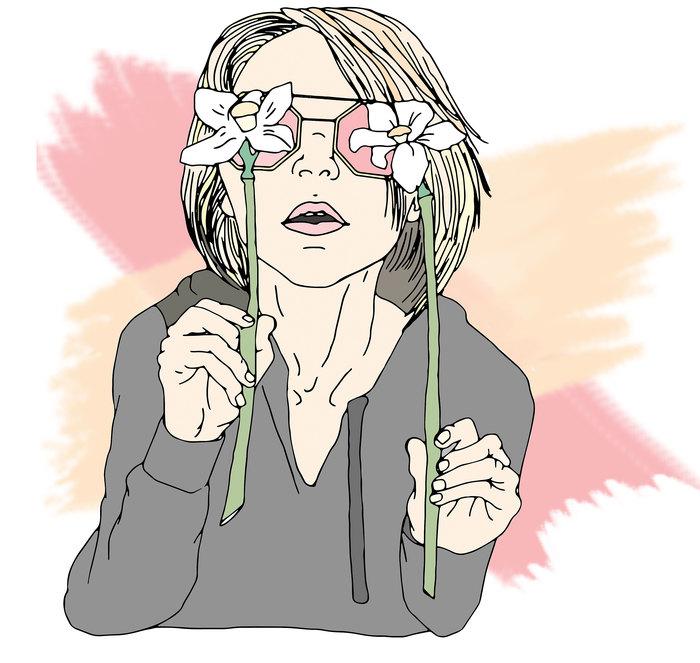 Нарциссы Рисунок, Цифровой рисунок, Моё, Самоучка, Длиннопост