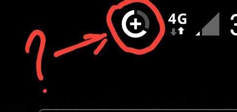 Помогите понять, что это висит в строке состояния? Android, Без рейтинга, Я туп, Смартфон