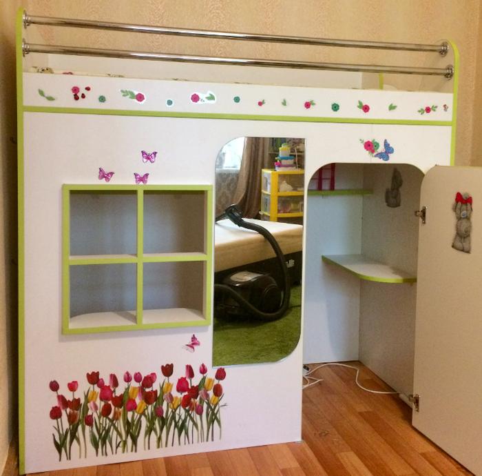 Кроватка-домик для дочки. Мебель своими руками, Для дочки, IPhone 5s, Длиннопост