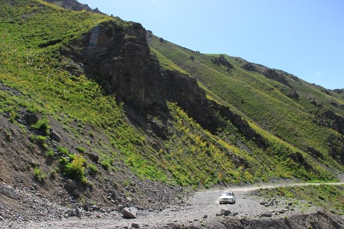 Поездка на Анзобский перевал. Перевал, Природа, Дорога в горах, Таджикистан, Длиннопост
