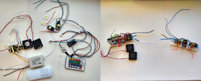 Сделал LED RGB Светильник для аквариума (и не только). свет в аквариум, самоделки, светильник, длиннопост