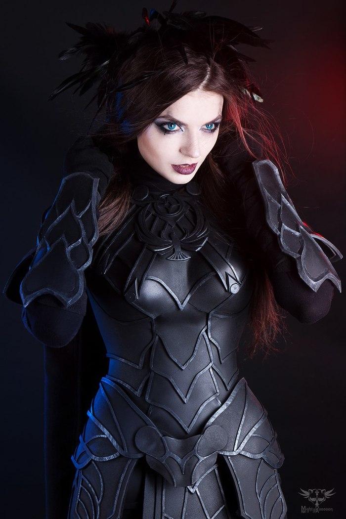 Nightingale - by -MightyRaccoon Косплей, Игры, The Elder Scrolls V: Skyrim, Nightingale, Девушки, MightyRaccoon, Длиннопост