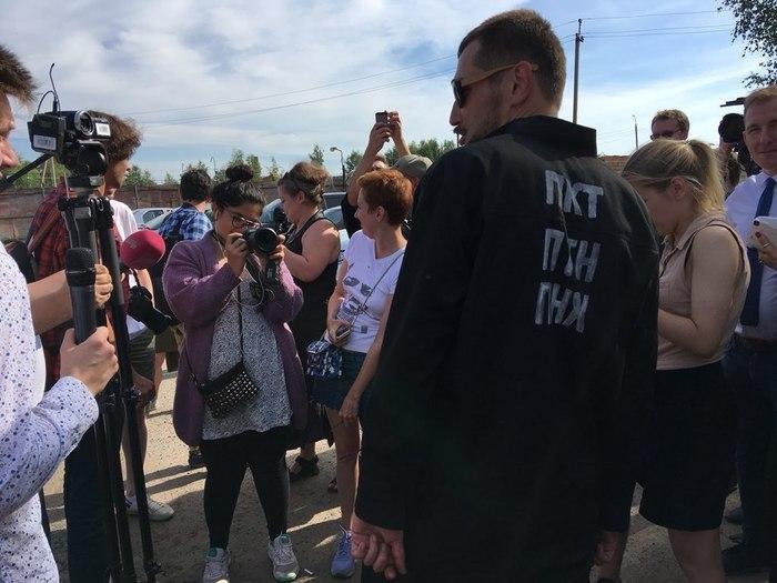 Осужденный за мошенничество Олег Навальный вышел из колонии Алексей Навальный, Олег Навальный, Политика, Петух, Длиннопост, Новости