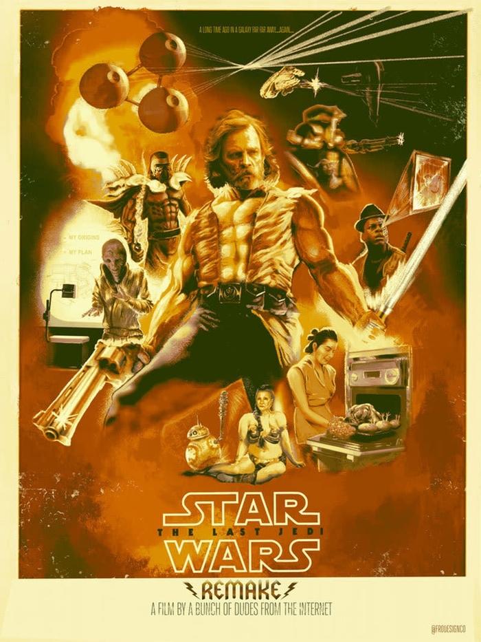 Правильные «Последние Джедаи» Люк скайуокер, Star wars, Юмор, Фанатское творчество, Сноук, Кайло рен, Звезда смерти