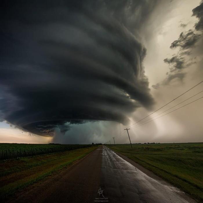 Торнадо Атмосферное явление, США, Интересное, Торнадо, Смерч