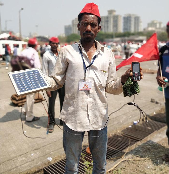 Протест и солнце Индия, Протест, Экосфера, Альтернативная энергетика, Солнечная энергия, Длиннопост, Митинг, Зарядка для телефона