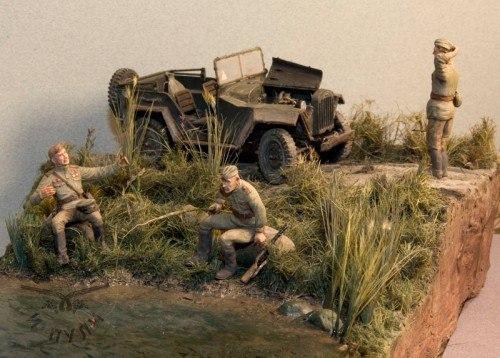 Поломка Моделизм, стендовый моделизм, Великая Отечественная война, длиннопост