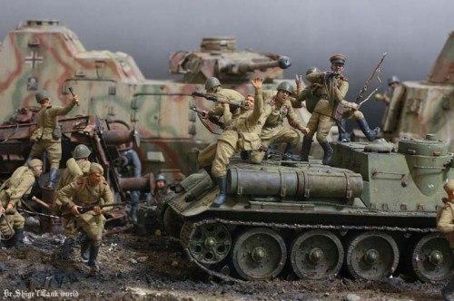 Заварушка моделизм, стендовый моделизм, Великая Отечественная война, длиннопост