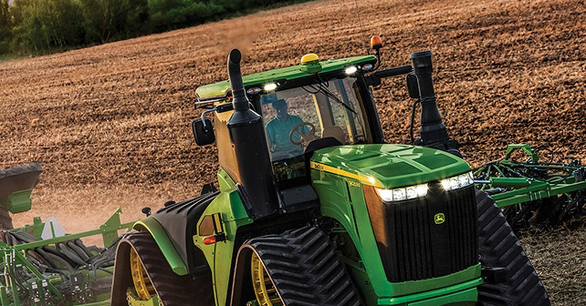 этом фото трактора джон дир передают атмосферы