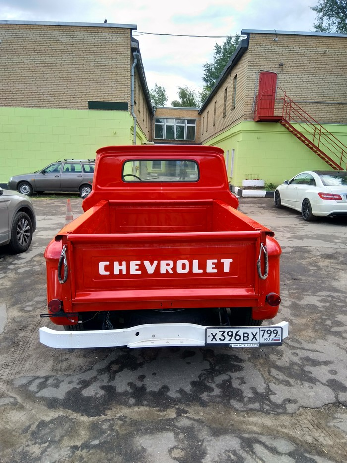 Chevrolet C10 Chevrolet, Авто раритет, Длиннопост