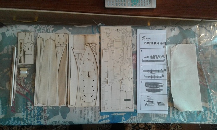 """Рыбацкая лодка """"Флатли"""" 1/30 (модель для начинающих) стендовый моделизм, парусный флот, первый опыт в, работа с деревом, длиннопост"""