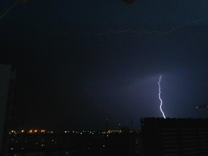 Охота за молниями в Тюмени Тюмень, Гроза, Молния, Фотография, Длиннопост