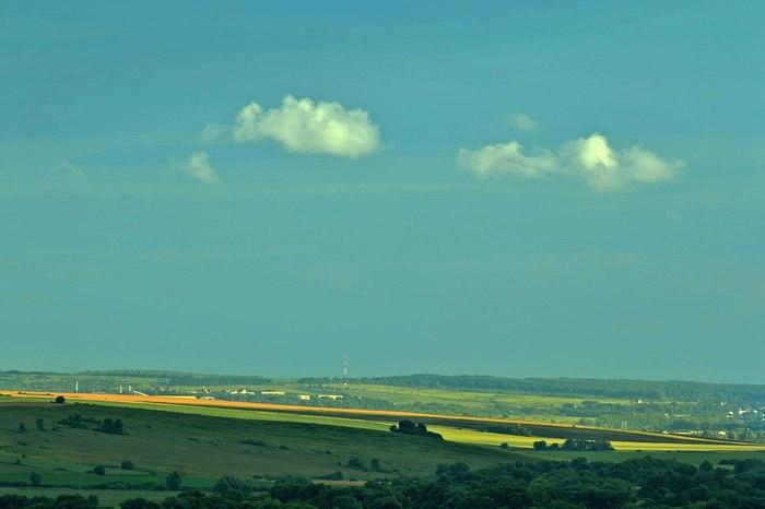 Деревенские пейзажи Фотография, Деревня, Длиннопост
