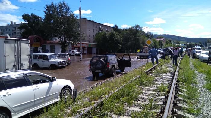 Потоп в Чите Чита, Потоп, Чрезвычайная ситуация, Длиннопост