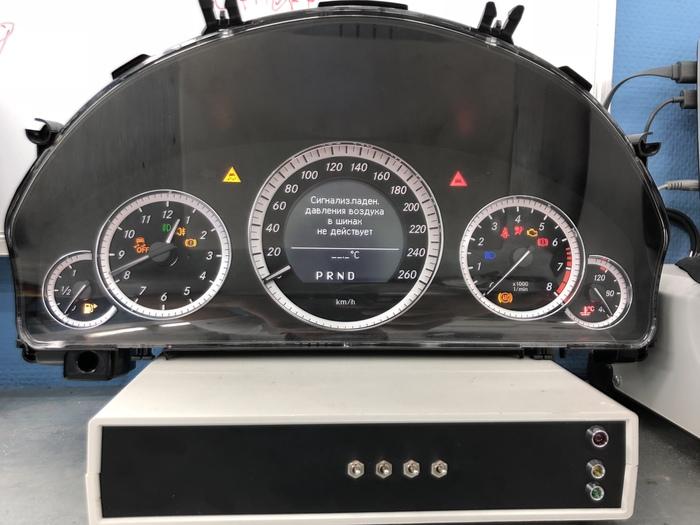 Mercedes W212 Замена щитка монохром - цвет щиток, приборная панель, мерседес, длиннопост