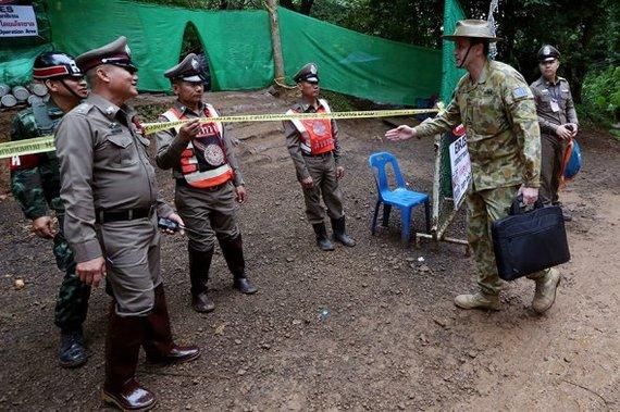 В Таиланде завершились спасательные работы в затопленной пещере таиланд, пещера, дети, спасение, операция, море, дайвинг