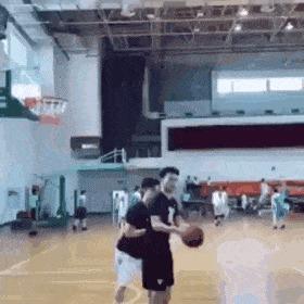 Обманочка Баскетбол, Мяч, Кольцо, Гифка