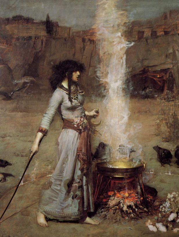Ева из круга. Знакомство. Кое-что о колдовстве Колдовство, Ева из круга, Магия, Длиннопост