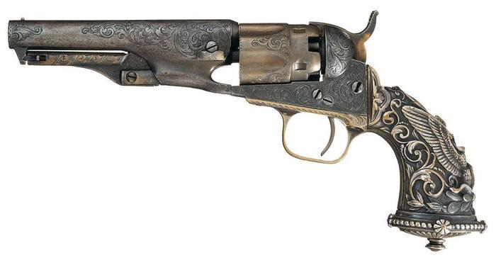 Colt от Tiffany Револьвер, кольт, Оружие, старинное оружие, красота, длиннопост
