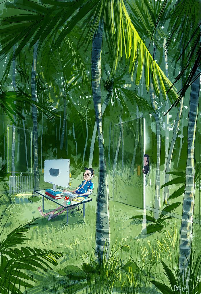 The Jungle Room Арт, Джунгли