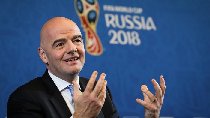Президент FIFA назвал чемпионат в России лучшим в истории Спорт, Футбол, Россия, Чемпионат мира, Fifa