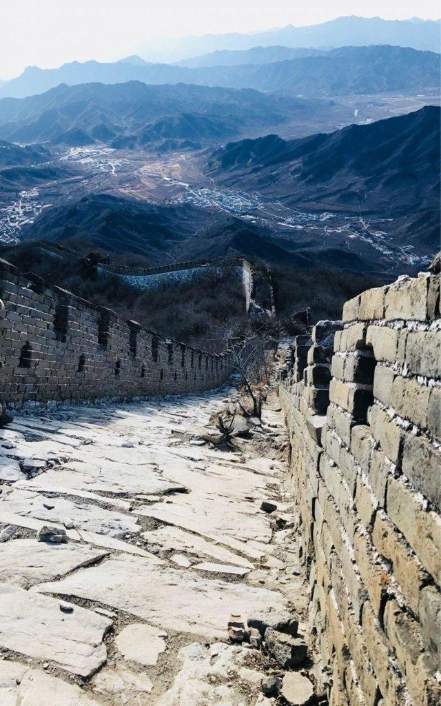 Заброшенная часть Великой китайской стены
