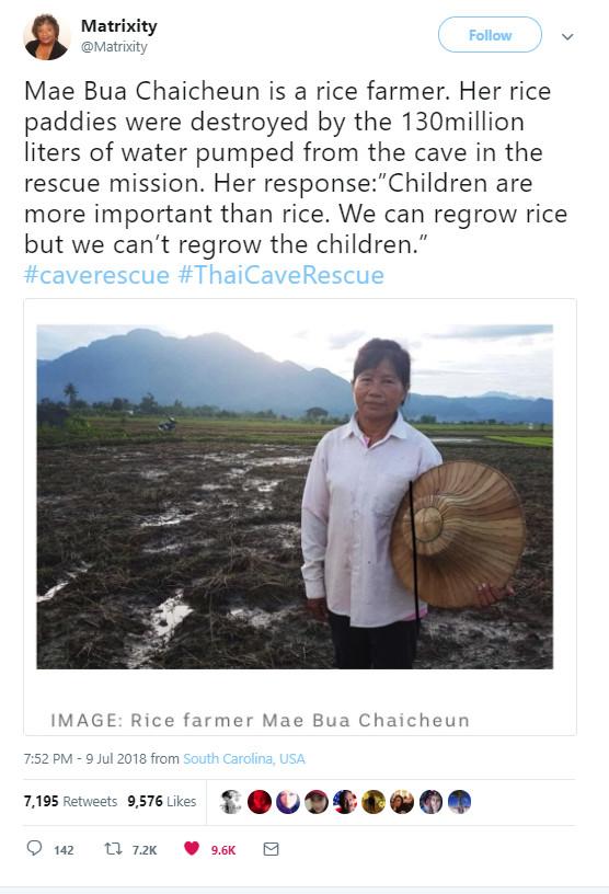 Фермер Мае Буа Чаичеун Пещера, Спасение, Спасение детей в Таиланде