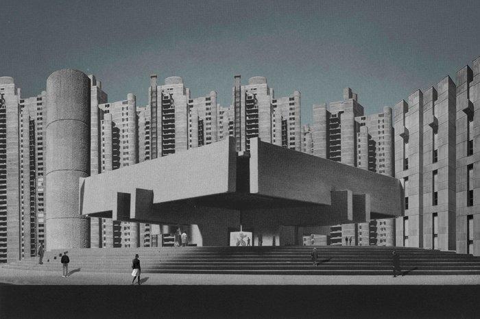 Брутализм- серые жилые массивы (большая статья и видео) Брутализм, Модернизм, Архитектура, Панельки, Авангард, Архитектор, Стиль, Искусство, Видео, Длиннопост