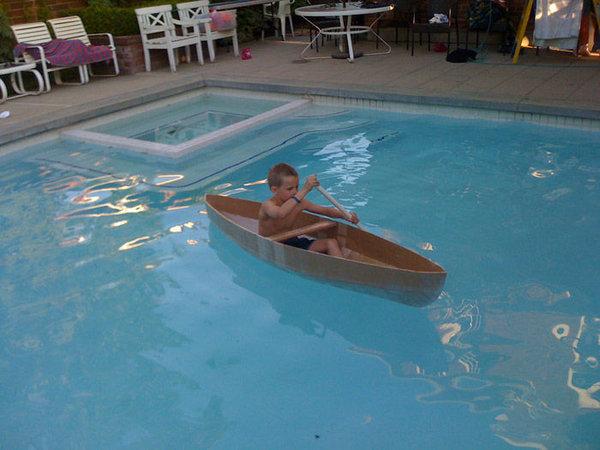 Как сделать картонную лодку для детей