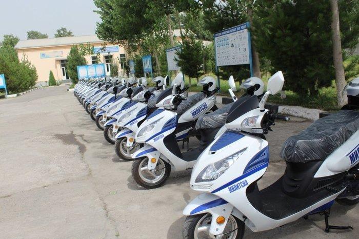 Узбекистан начал продавать скутеры собственного производства Узбекистан, Таджикистан, Скутер, ППС, Новости