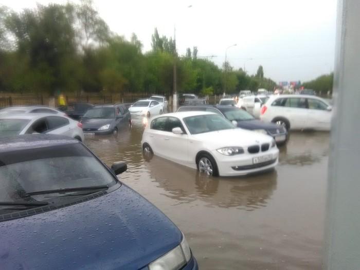 Дождик в Волгограде. Волгоград, Дождь, Потоп, Длиннопост