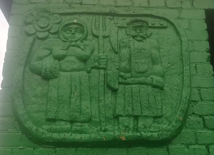 Остатки Великой цивилизации Автобусная остановка, Длиннопост, Фотография