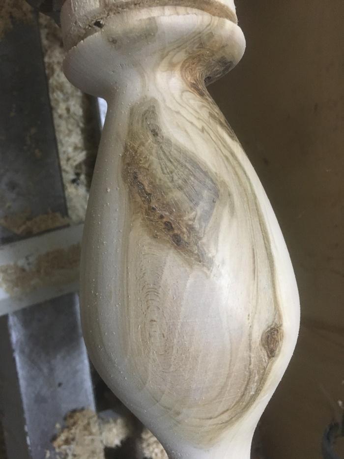 Токарное безделие. дерево, ручная работа, масло, ваза, токарка, красота, видео, длиннопост