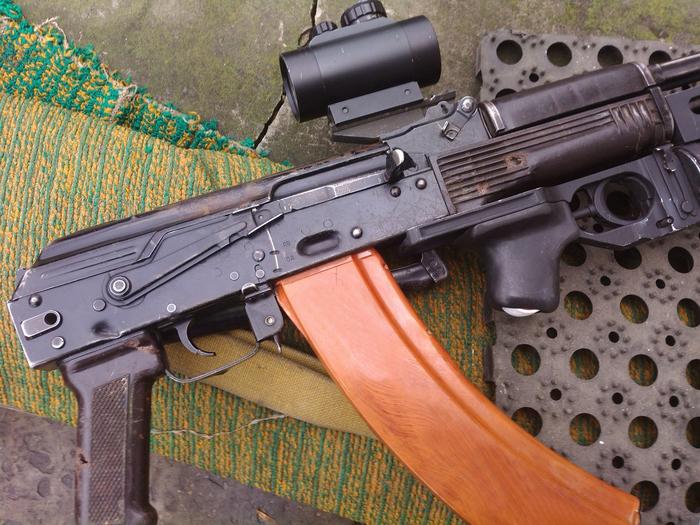 Пострадавший. Оружие, Армия, Война, Донецк, ДНР, Украина, Автомат, Длиннопост
