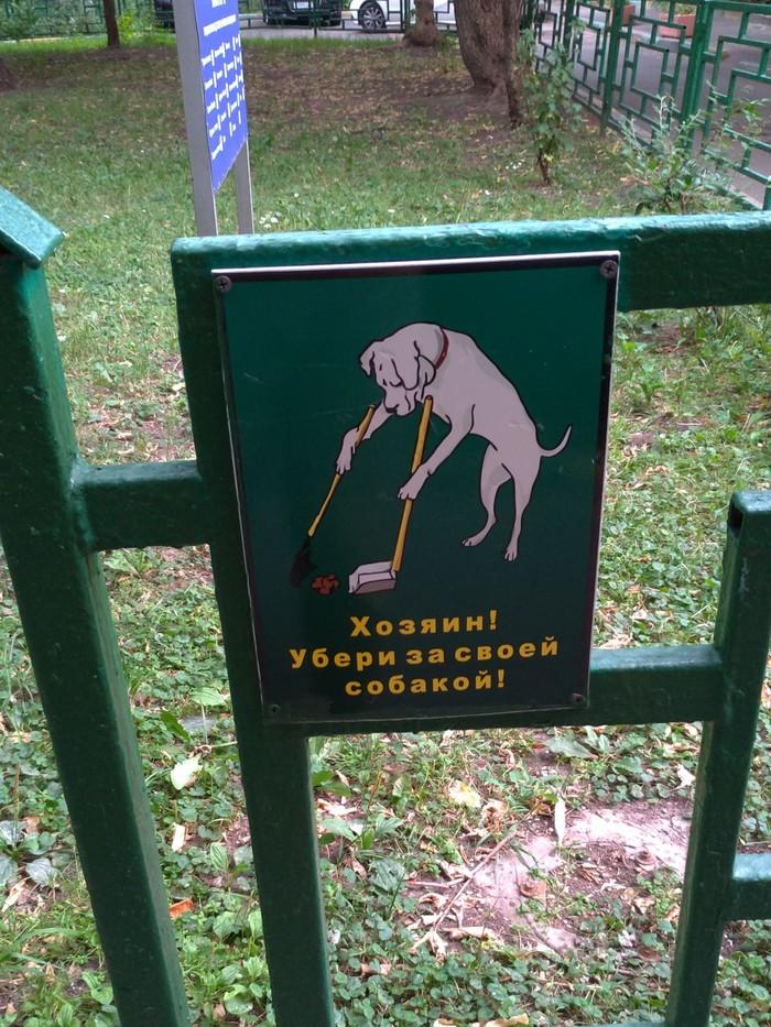Собака захозяиномубирака.