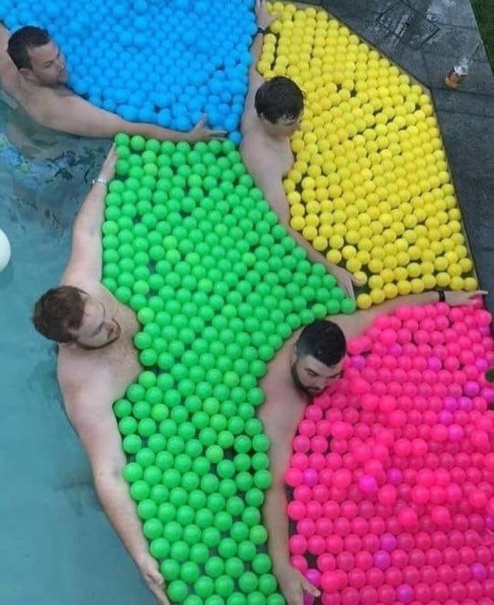 У каждого свои шарики