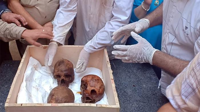 Вскрытие черного саркофага: новые подробности и фото Египет, саркофаг, фотография, текст, длиннопост, черный саркофаг