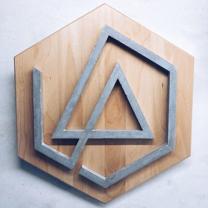 В память о Честере Бетон, Дерево, Linkin Park, Handmade, Рукоделие без процесса, Длиннопост