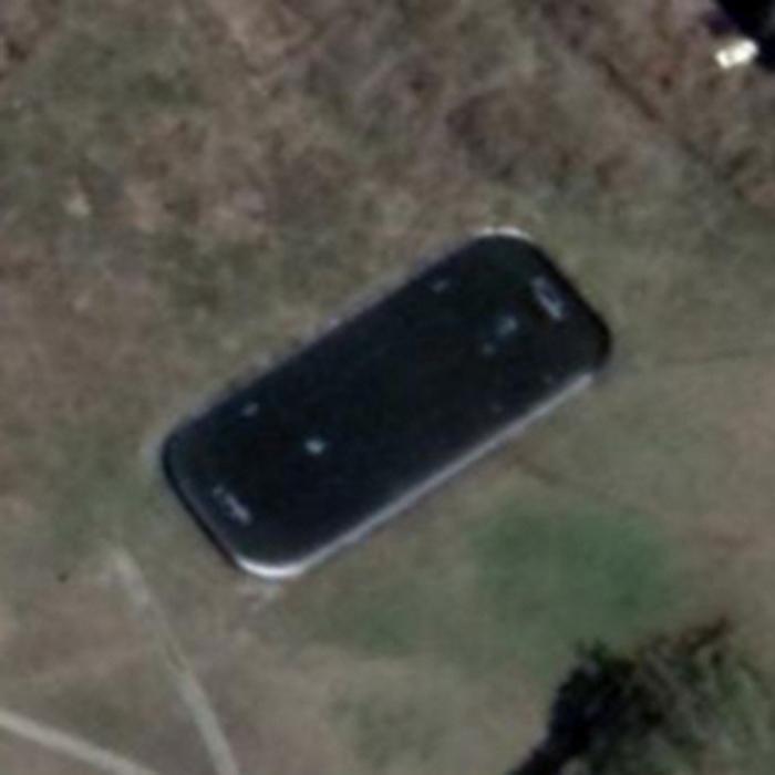 В Омск кто-то с неба уронил гигантский смартфон Омск, Китайские смартфоны, Глюки, Google maps
