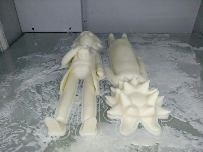 Рик собирающий бабло на путешествия по вселенным Пятничный тег моё, Рик и морти, Рик, Копилка, Творчество, Своими руками, 3D, 3D печать, Длиннопост