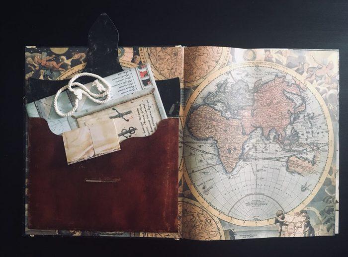 """""""Остров сокровищ"""" Р. Л. Стивенсона - книга-секрет с 3D cтраницами Книги, Остров сокровищ, Роберт Льюис Стивенсон, Билли бонс, Пираты, Иллюстрации, Длиннопост"""